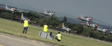 'Orlik' Aerobatics Team takes off
