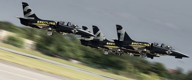 Breitling Jet Team takes off