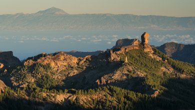 Roque Nublo and Tenerife