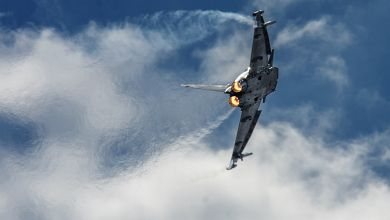 Italian Eurofighter Typhoon is heating up Poland