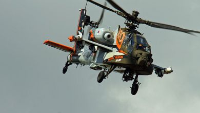 Dutch Ah-64D Apache Demo Team