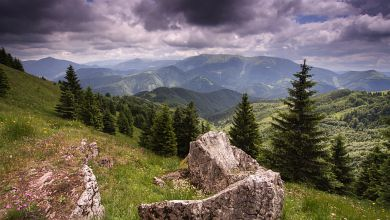 The Nizne Tatry from Zvolen